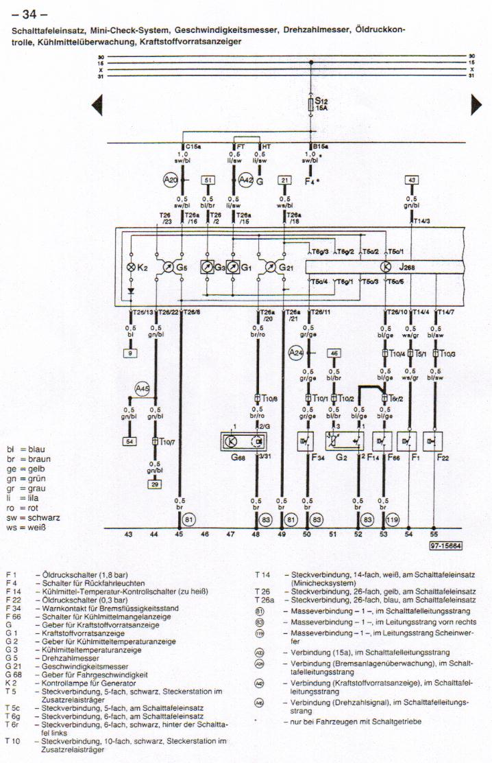 B4 (Audi 80) Wiring Diagrams | Audi B4 Wiring Diagram |  | www.sealtd.net
