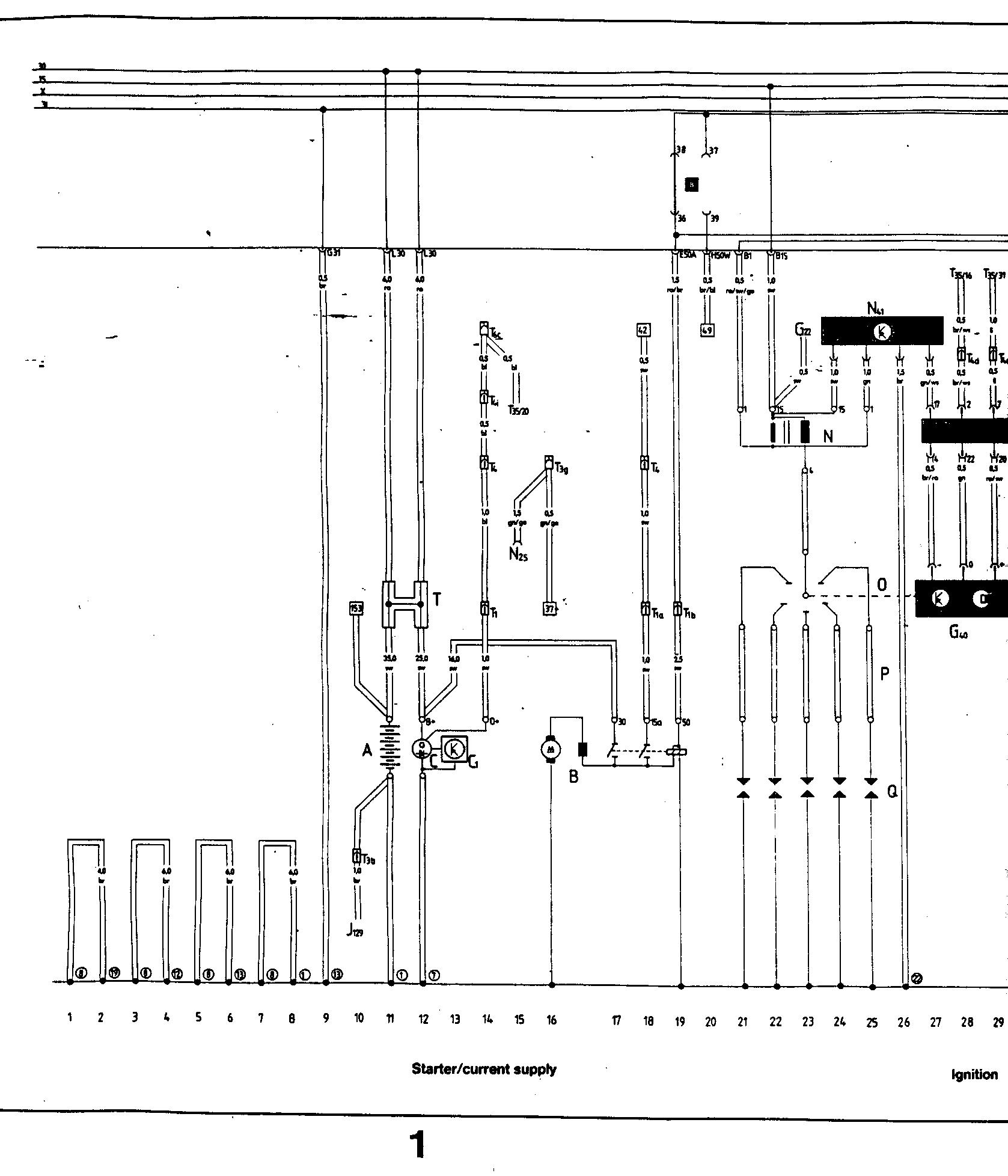 Audi Ur Quattro 1985 Wiring Diagrams Diagram 17 Main Tracks 1 28