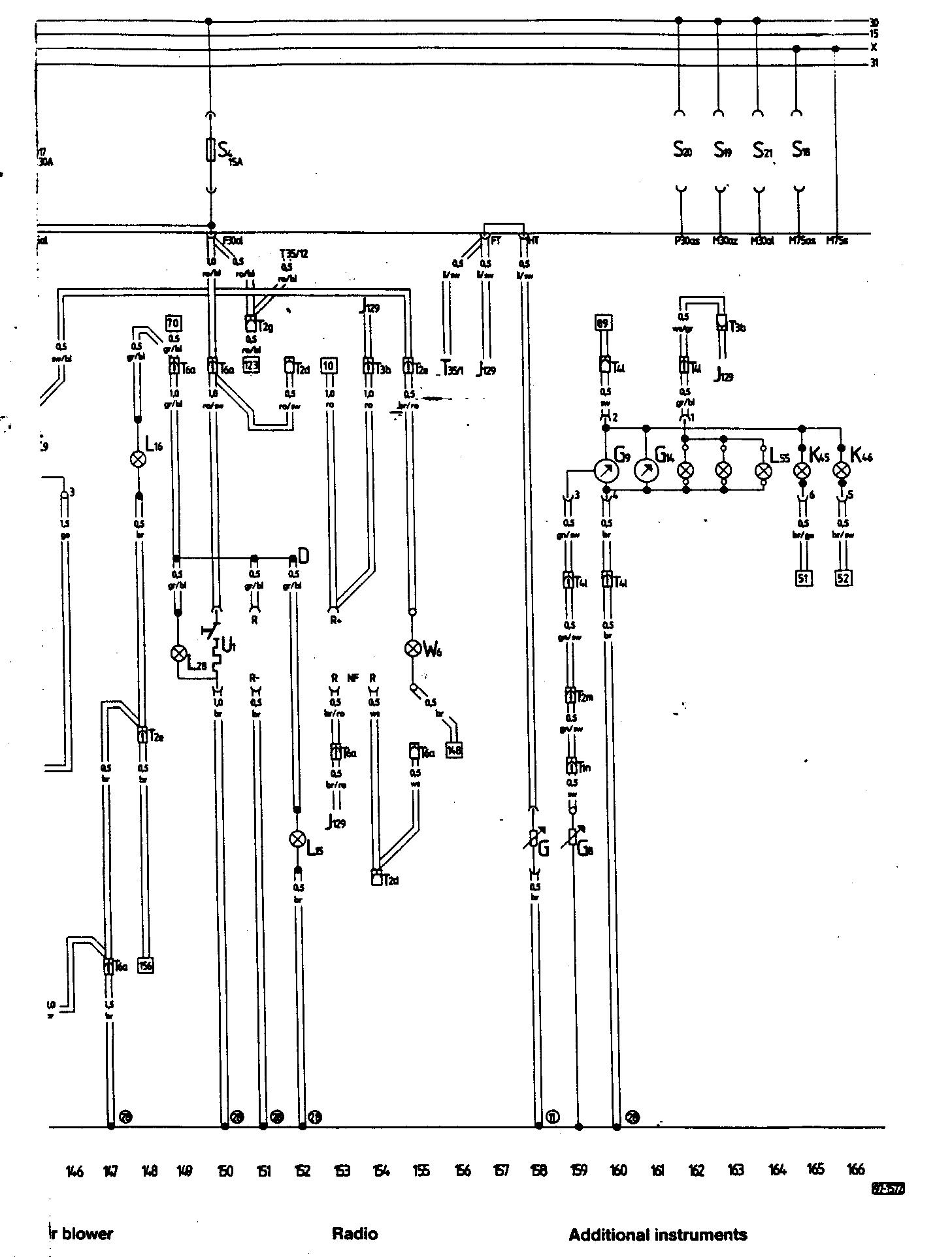 Audi Ur Quattro 1985 Wiring Diagrams Abs Diagram 18 Tracks 1 29 4 32