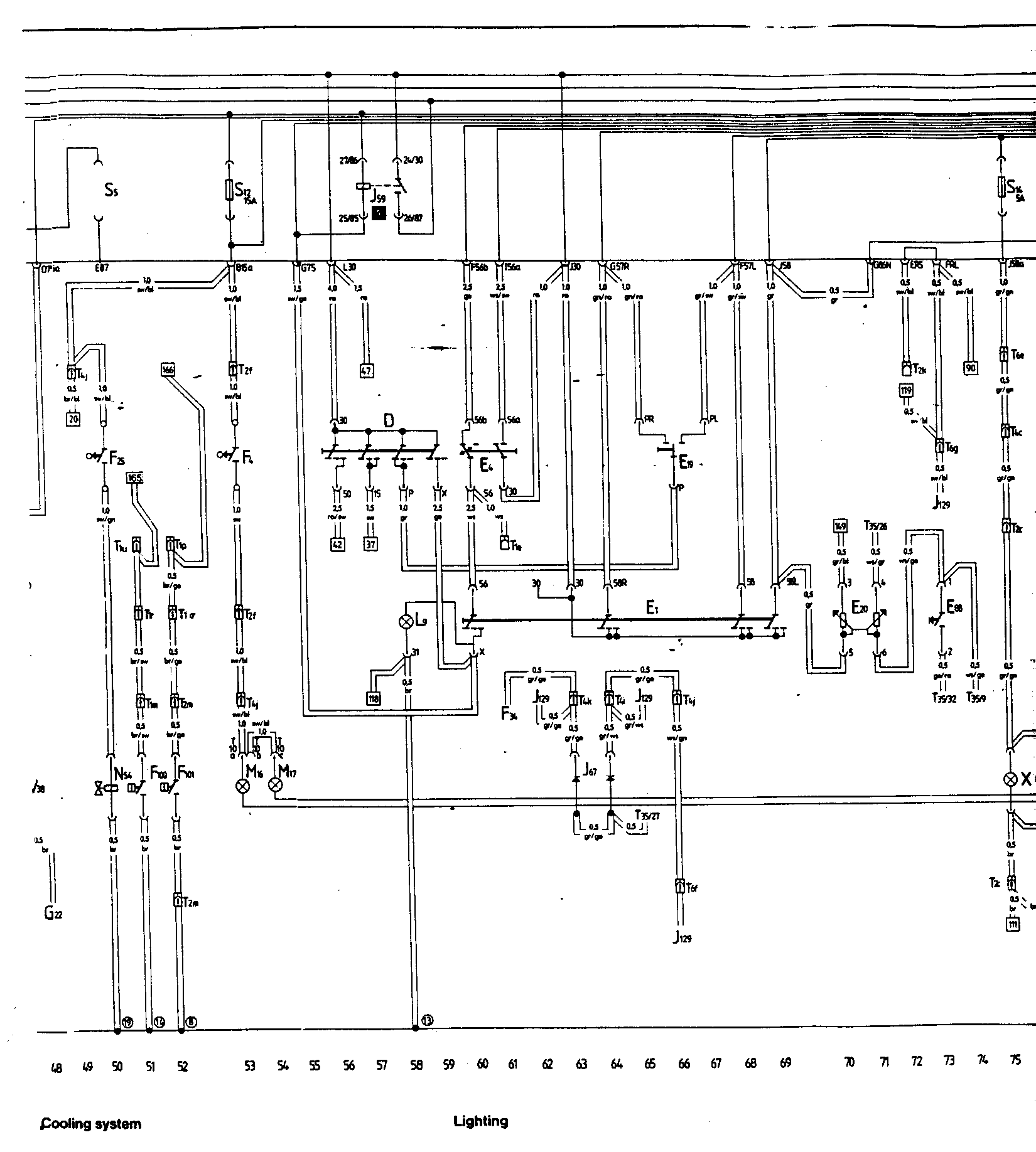 Audi Ur Quattro 1985 Wiring Diagrams Diagram 17 Main Tracks 50 75